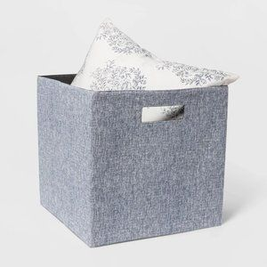 New Set of 2 Fabric Cube Storage Bins